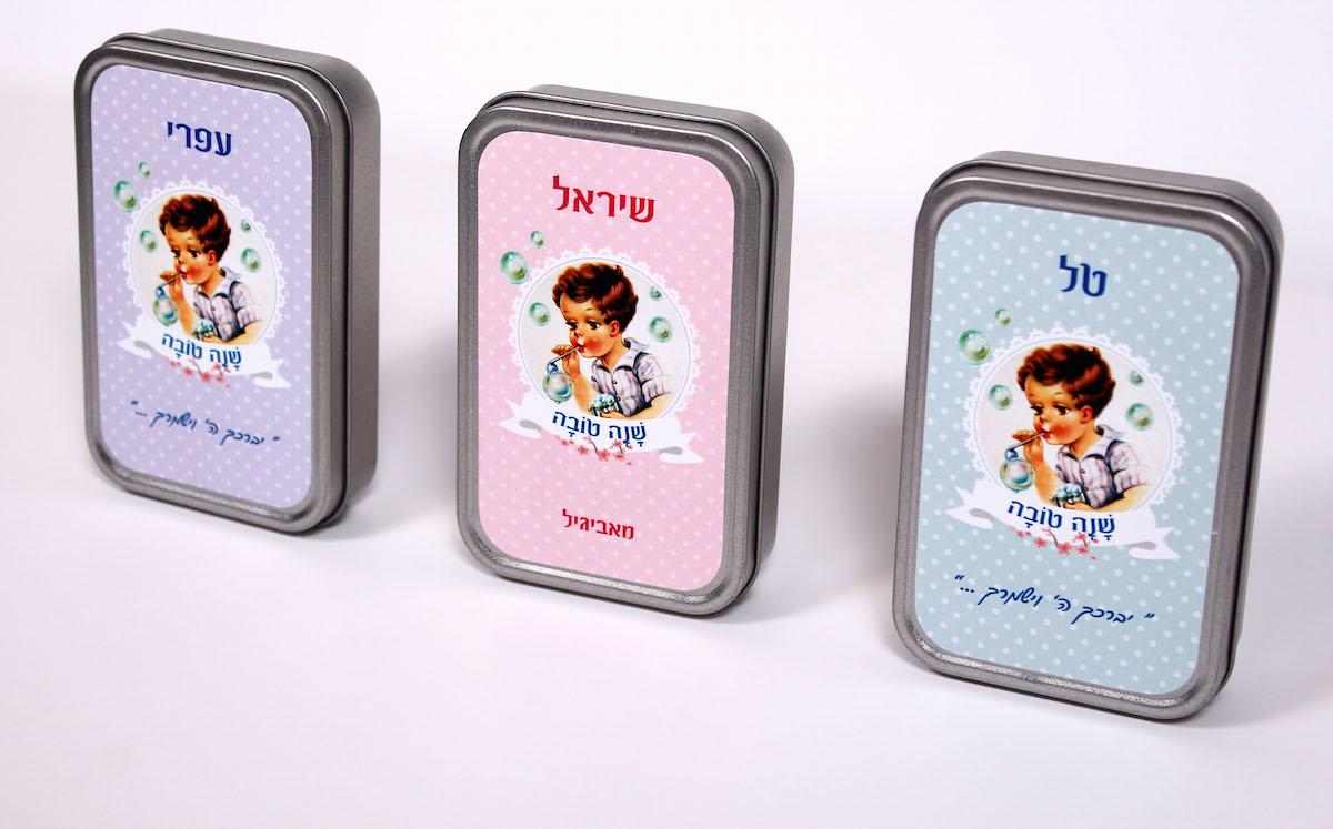 קופסת קלפים ממותגת | קונפטיקס